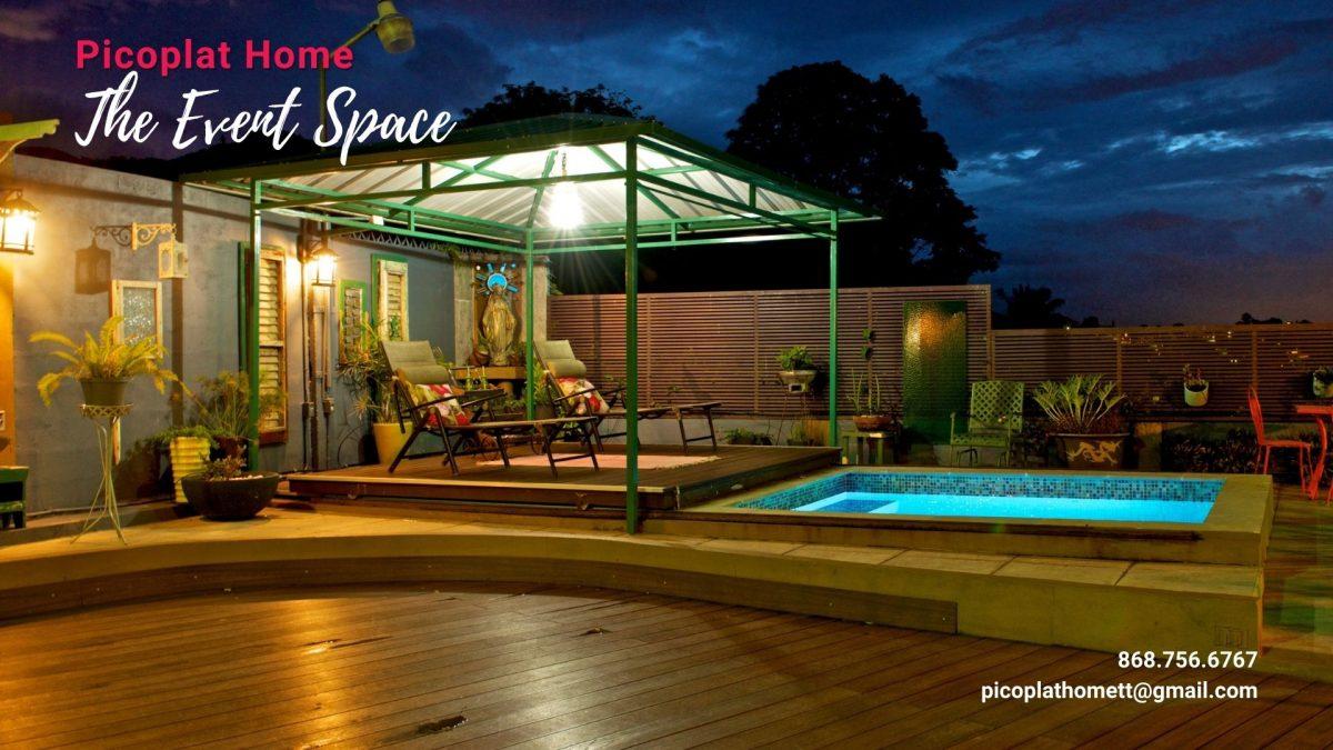 Pool Deck at Picoplat Home